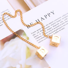 Buy 2018 Fashion Woman Bracelets Big Han Solo Lucky Dice Prop,1.3cm Dice Link Chain Bracelet Star Wars Car Mirror Ornaments for $1.50 in AliExpress store