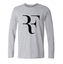 Summer Fashion mma T shirt Men Roger Federer Shirt Brand 100% Cotton High Quality Clothing Tops Tees Men Long Sleeve Shirts 2017
