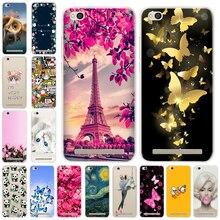 Fashion Phone Case Xiaomi Redmi 5A Silicone TPU Case Coque Xiaomi Redmi 5A Back Cover Redmi 5A 5 Redmi A5 Funda 5.0