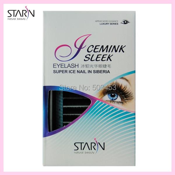 new 100% Siberia Real Mink eyelash extension high-end C Curl Fake Eyelash natural false eyelashes Long Eyelash Extension Makeup<br>