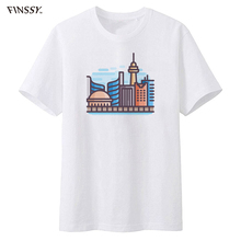 New summer Toronto Fashion T Shirt Casual T-Shirt Maple Leafs Logo printed Mens Tops Tees(China)