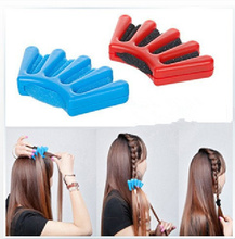 New Hair Braider Braid Stylist Sponge Plait hair Twist Styling Braiding Tool Free Shipping DY3(China)