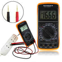 AC / DC LCD Display Auto Professional Electric Handheld Tester Digital Multimeter Meter Ammeter COMS  car-styling car accessorie