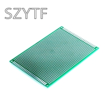 8 * 12CM Double Side Prototype / Universal board / PCB board fiberglass material 1.6MM(China)