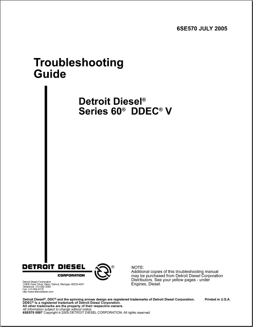 Detroit Diesel 60 Series Service Manual PDF<br><br>Aliexpress