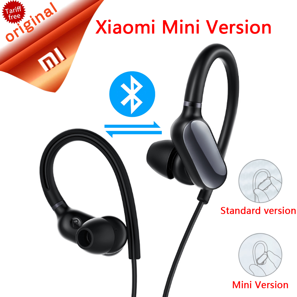 Original Xiaomi Bluetooth Sports Earphone Mini Version Bluetooth 4.1 Music/Sport Bluetooth Headphone Waterproof Wireless Headset<br>