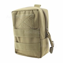 Tactical Molle Waist Bag Utility Magazine Pouch Hunting Accessory Medic Pouch Pack Camping Running Outdoor sports Pouch Tan(China)