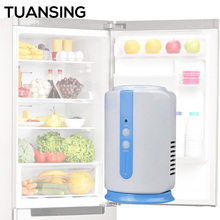 Ozone Generator Air Cleaner Fridge Food Fruit Vegetables Shoe Wardrobe Car O3 Ionizer Disinfect Sterilizer Fresh Air Purifier(China)