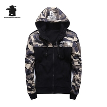 2017 new men's camouflage hoodies designer spring fashion high quality plus size casual supreme hoodie men moletom M~3XL D8E7919