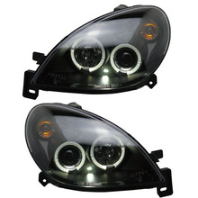 for Citroen Xsara Angel Eye Projector Headlights fit 1999-2005 year models Angel Eye front lamps for cars
