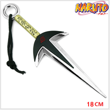18CM Naruto Weapon Model Anime Action Figures Yondaime Minato Kunai Case Pendants Toys For Children Boy Gifts Action-045