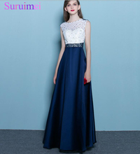 100% Real Image Dark Navy Blue Cheap Bridesmaid Gowns 2017 Women Party Gowns for Wedding Bridesmaid Dresses Vestido De Festa