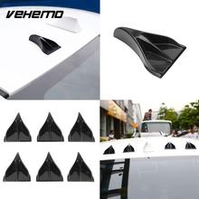 Vehemo EVO Style Carbon Fiber Car Roof Eagle Claw Shark Fins Tails Wings Accessories
