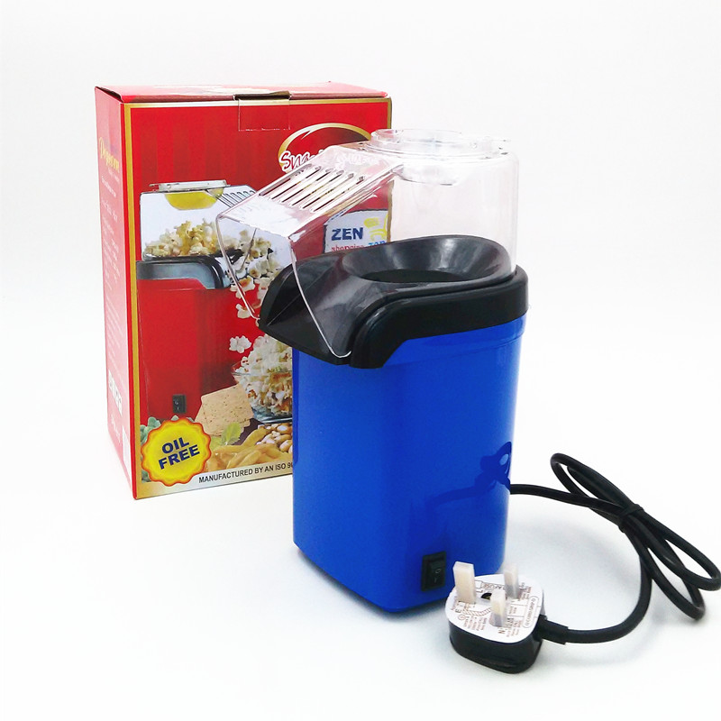 Mini Household Home Kitchen Healthy Hot Air Oil-free Popcorn Making Machine Maker Corn Poping Popper<br>
