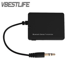 VBESTLIFE Bluetooth Transmitter Bluetooth Audio Transmitter with 3.5mm Jack A2DP Stereo Dongle Adapter for iPod TV Mp3 Mp4 PC(China)