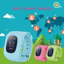 Q50 GPS Tracker Watch For Kids SOS GSM Mobile Phone App For Android Emergency Smart Bracelet Wristband Alarm Baby Giift