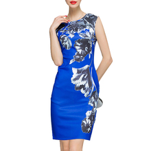Europe and the United States 2017 summer women clothing waist collection slim slim knitting bag buttocks pencil dress dress