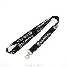 High quality cheap price factory custom polyester strap lanyard(China)