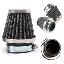 Mayitr Universal Motorcycle Bike 48mm Air Intake Filter Turbo Vent Crankcase Breather Mushroom Head Cleaner