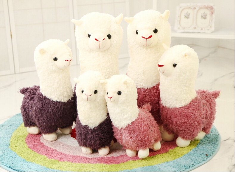 One Piece Alpaca Plush Toy Japanese Soft Plush Alpacasso Baby 100% Plush Stuffed Animals Alpaca Gifts Baby Toy<br><br>Aliexpress