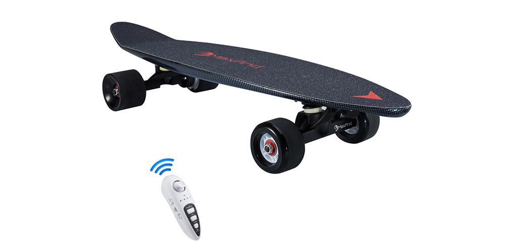 electric skateboard Max C black one