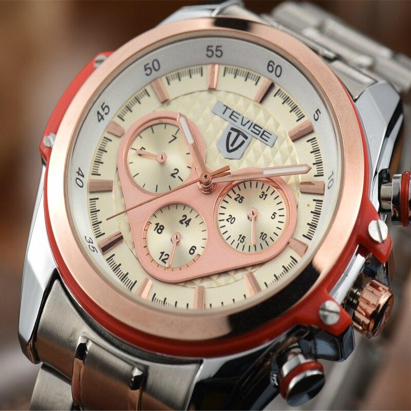 Luxury Men Watch Brand TEVISE Mechanical Watch Waterproof Men Watch Clock Steel Luminous Wristwatches for Men Relogio Masculino<br><br>Aliexpress
