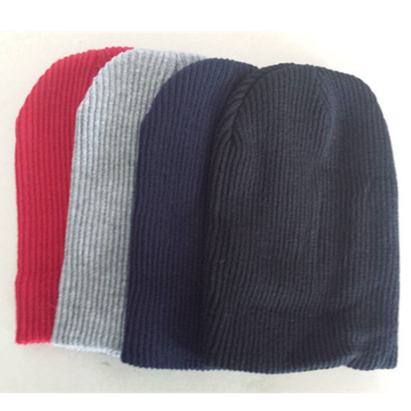 Winter Casual Cotton Knit Ski Cap Skull for Women Men Beanie Hat Oversize Baggy Unisex Crochet Slouchy Oversized Warm SkulliesÎäåæäà è àêñåññóàðû<br><br><br>Aliexpress