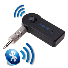 Handsfree Mini 3.5mm Car Bluetooth Audio Music Receiver Adapter Auto AUX Streaming A2DP Kit with Mic for Speaker Headphone(China)