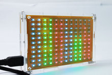 LED musical spectrum display of music production suite LED flash kit