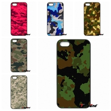 For iPhone 4 4S 5 5C SE 6 6S 7 Plus Galaxy J5 J3 A5 A3 2016 S5 S7 S6 Edge Cool Army Camo Camouflage Skin Hard Cell Phone Case