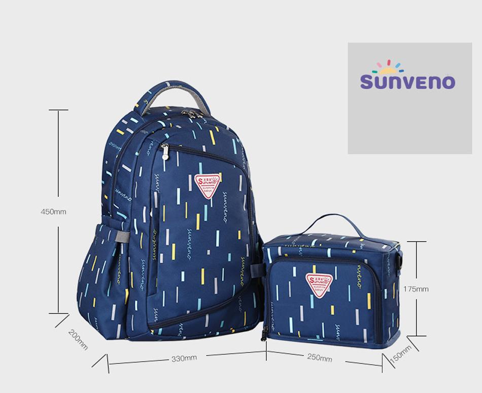 SUNVENO حقيبة مستلزمات الطفل 8