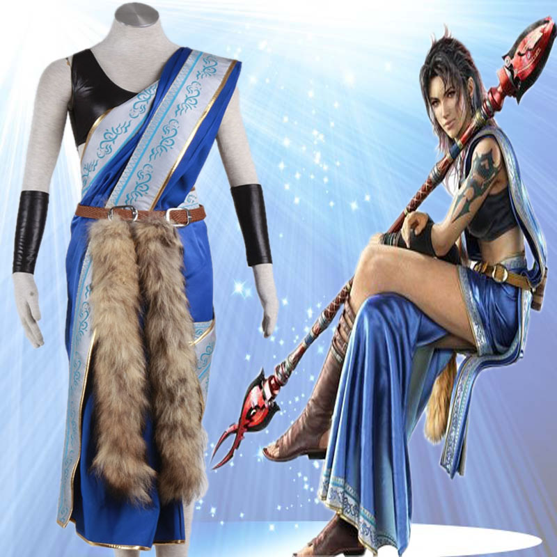 Final Fantasy XIII cosplay costume Oerba Yun Fang cosplay costume