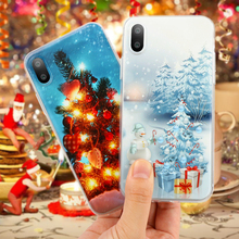 Christmas Soft TPU Case for Couqe iPhone X 7 8 4 4S 5 5S SE 5C 6 6S Plus Cover Fundas Silicone Panada Dreamcatcher Cases(China)