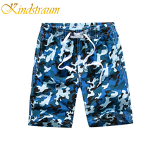 Kindstraum Boys Summer Shorts Quick Dry Swim Trunks Boys Camouflage Beach Shorts Children's Surf Pants Kids Boardshorts, MC695(China)