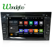 Android 7.1 RAM 2G / 1G ROM 32G /16G 2 DIN DVD PLAYER RADIO GPS SCREEN For Opel Astra H G J Vectra Antara Zafira Corsa Graphite(China)