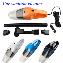 SALBEITECH 120W Portable Car Vacuum Cleaner Wet And Dry Dual Use Auto Cigarette Lighter Hepa Filter 12V  free shipping