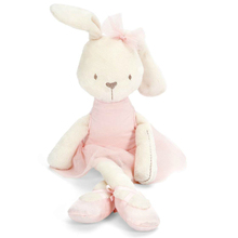 1pcs 42cm Cute Rabbit with Pink Dress Baby Plush Toy Soft Ballet Rabbit Doll Kids Comfort Doll Best Gift for Children