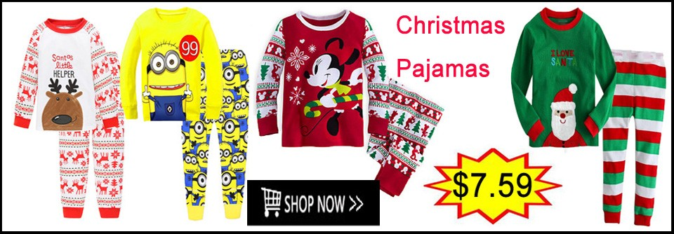 Boys Christmas Pajamas 2
