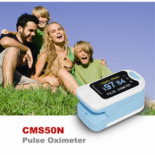 USA Shipping 2016 CE OLED Fingertip oxymeter spo2,PR monitor Blood Oxygen Pulse oximeter,CMS50N(China)