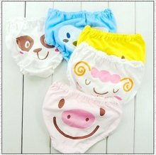 Free shiping 60 PICS/LOT 100% baby pants /baby underwear/baby briefs /100% cotton best quality on sale 20% free discount now(China)