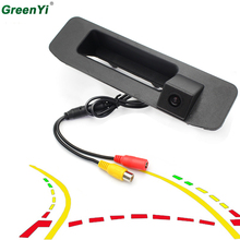 Car Trunk Handle Rear View Camera Mercedes Benz ML GLA GLC GLE A180 A200 A260 Car Rearview Backup Reverse Parking Camera HD