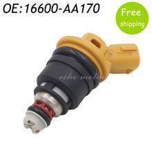 New 550cc Side Feed Fuel Injector For Subaru Sti WRX GC8 2.5L Engine 16600-AA170 FJ942 SF-61-550CC,16600AA170(China)