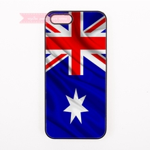 bright australia National flag simple Hard Back Cover Phone Case For iphone 4 4s 5 5s 5c se 6 6S plus 7 7 Plus case retro art
