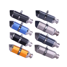 36~51mm Universal Motorcycle Exhaust Muffler Escape Slip-On Pipe Fit Many Motorbike Scooter ATV Dirt Bike(China)