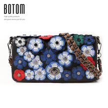 Latest Personalized Flowers Bag Luxury Handbags Good Quality Bag Lady Shoulder Cross Body Flap Bags Women Messenger Bag Purses