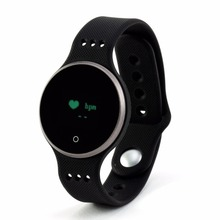 OLED IP65 Waterproof Bluetooth 4.0 Heart Rate Monitoring Smart Bracelet L9 Watch Support Android 4.4 iOS 7.0 - Best Professional Electronics Store store