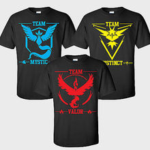 Pokemon Go Team Valor Team Mystic Team Instinct Pokeball T-Shirt Top Tee  ME ash ketchum 168