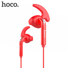 HOCO Earphones in Ears Universal Sports Wired Headset Travel Microphone for iPhone / Android Ergonomic for Phones 3.5mm Earbuds(Hong Kong)