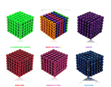 Magic Cube Multi-Molding 216 Pcs New Pattern Design  Neodymium Magnetic Balls 5mm DIY Magnet Puzzle Education Toys