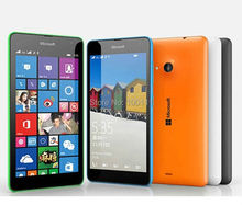 "unlocked Original Nokia Lumia 535 Cell Phone 5.0"" Touch Screen Quad Core Dual SIM Wifi 5MP camera , Free Shipping"